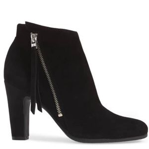 Sam Edelman Shoes - Sam Edelman Sadee suede zipper ankle booties